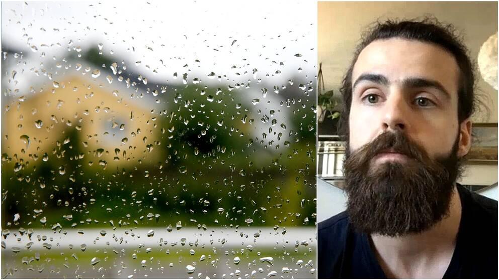 Mikael Nordborg, studerande civilingenjör på KTH, berättar hur vi kan bli bättre på att ta hand om vårt regnvatten