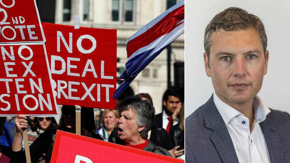 Demonstranterna som vill lämna EU utan avtal kan få sin vilja igenom – trots att parlamentet inte vill det. Det är den troliga följden av att politikerna inte lyckas enas om hur brexit ska genomföras.