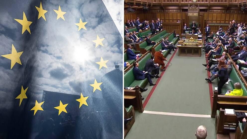 Brittiska parlamentet röstade nej till alla brexit-förslag