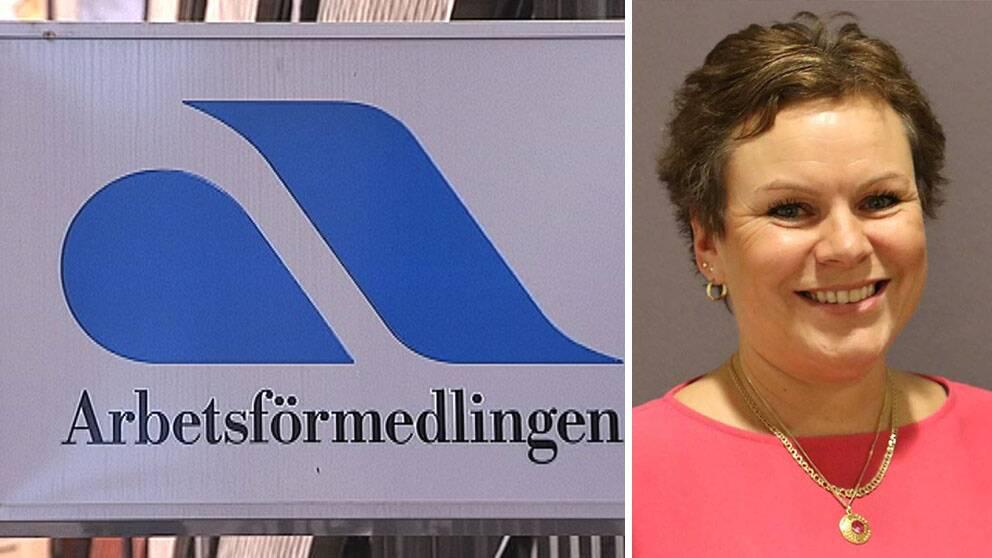 Christina Storm-Wiklanderär områdeschef för Arbetsförmedlingen i södra Norrland.