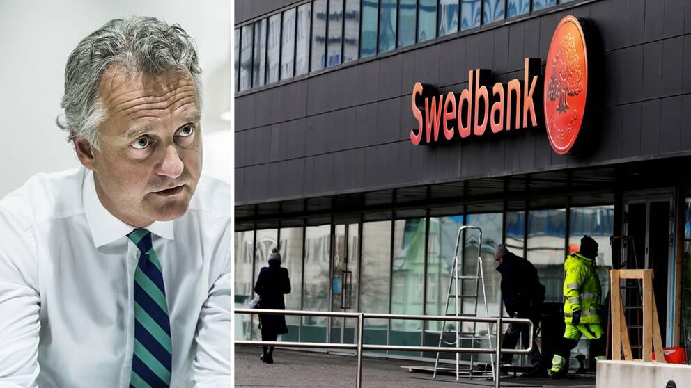 Magnus Billing, vd för Alecta som är en av storägarna i Swedbank