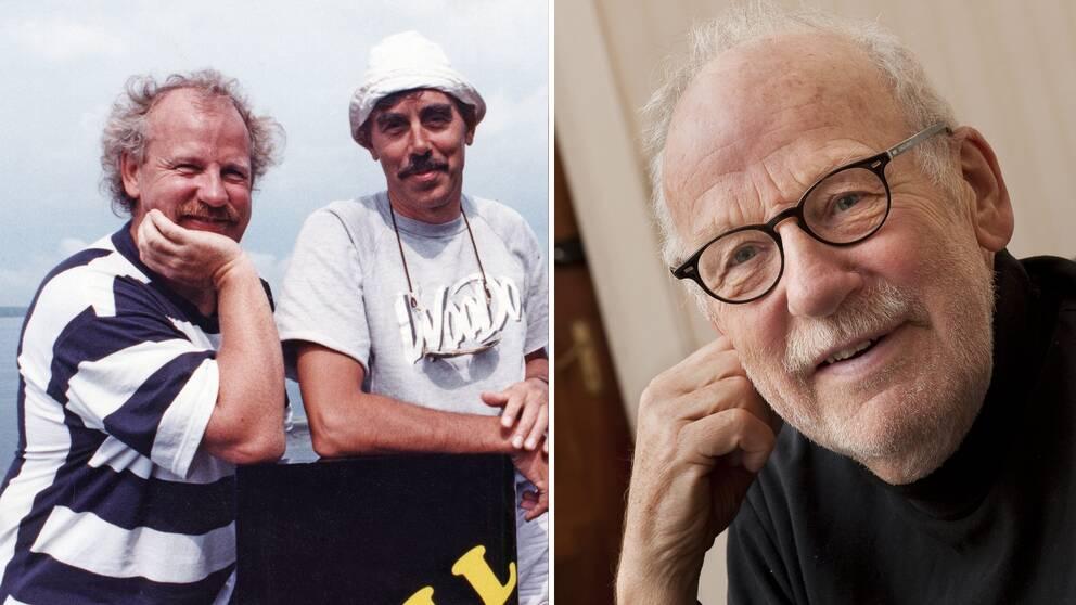 Jon Skolmen och Lasse Åberg – ett radarpar i svensk humorhistoria tack vare filmerna om Stig-Helmer och den av Skolmen spelade karaktären Ole Bramserud