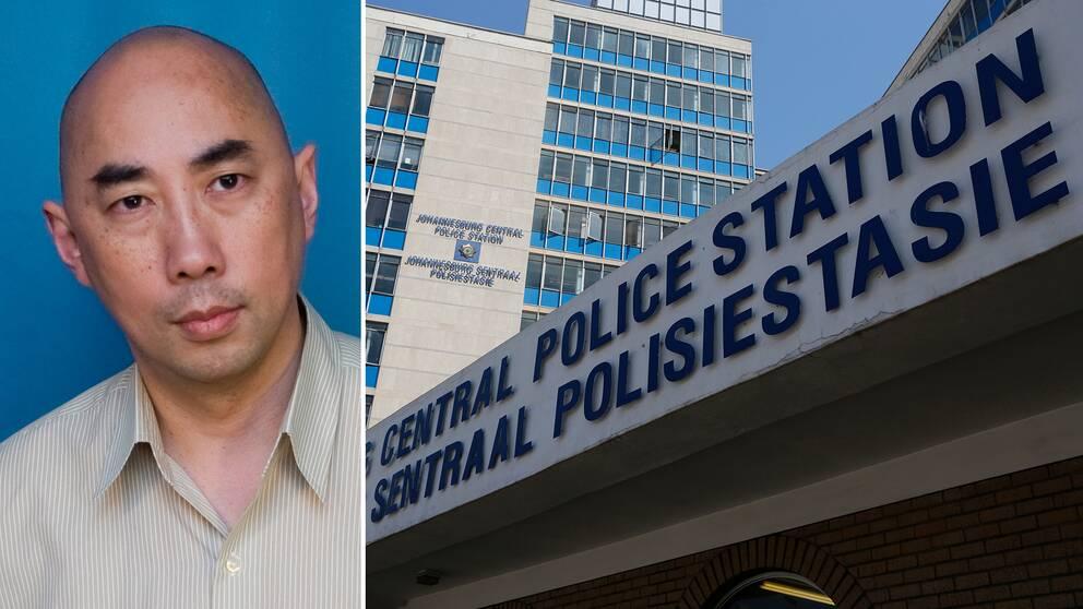 Christoffer Wong, universitetslektor vid juridiska institutionen på Lunds universitet och en polisstation i Johannesburg, Sydafrika.