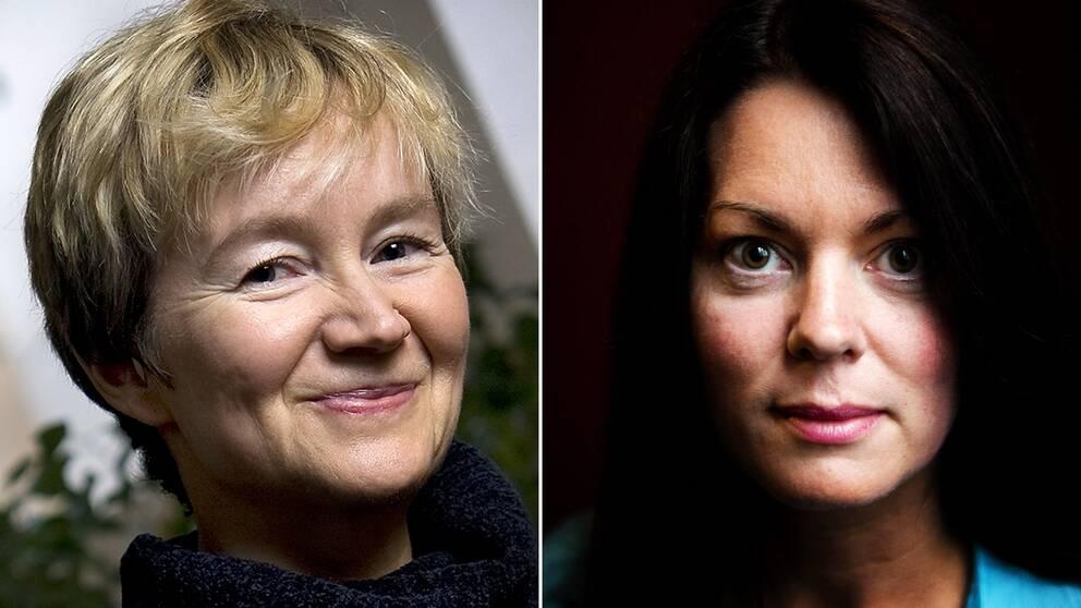 Ellen Mattson och Anne Swärd