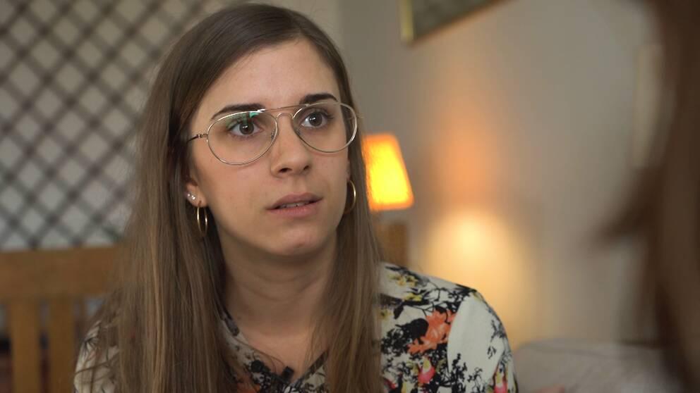 Lisen Bandh Pehrson berättar att hon utsattes för ett sexuellt övergrepp på ett hotell på Tasmanien i Australien.