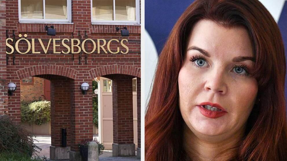 Louise Erixon är i dag kritisk mot de politiska kollegorna i samstyret och har kallat till möte under måndagen.