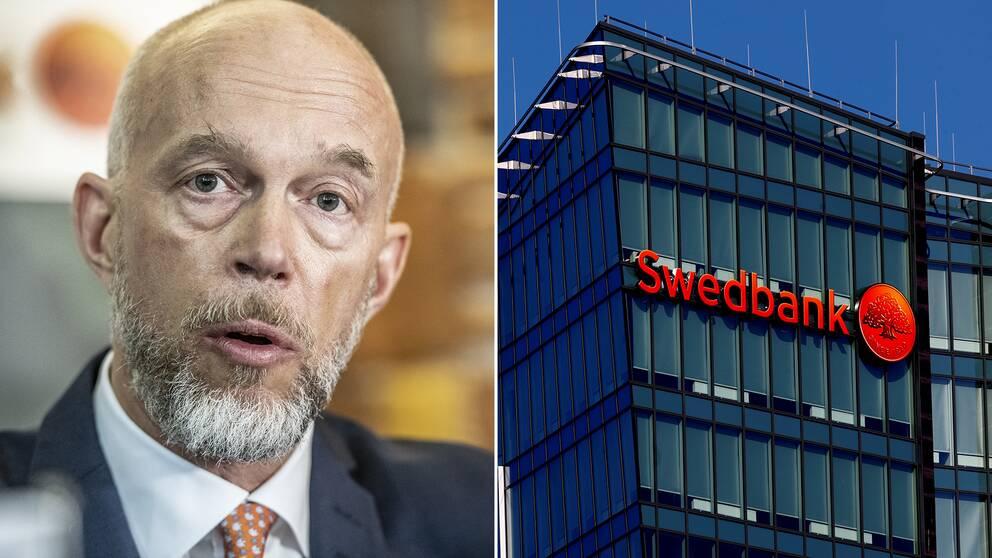 Swedbanks tillförordnade vd Anders Karlsson.
