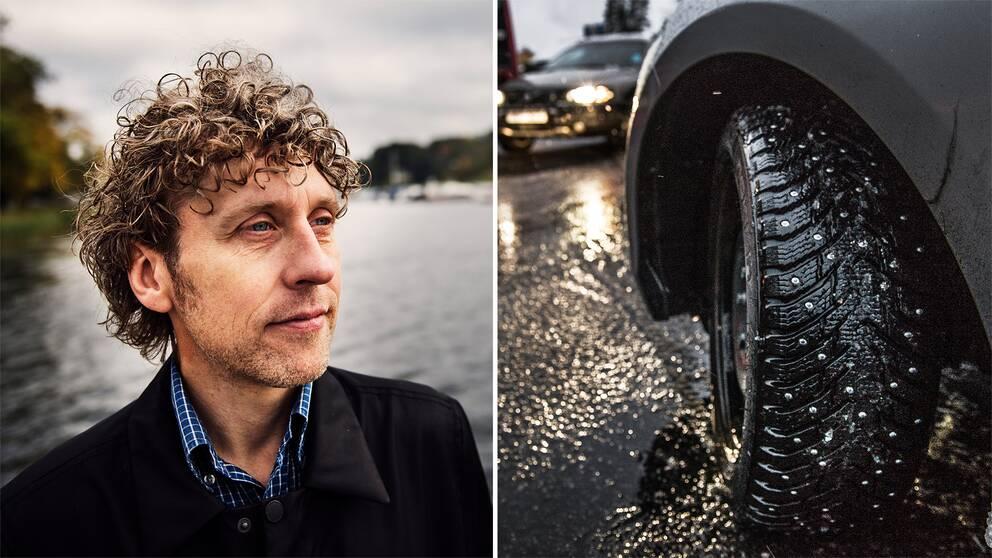 """""""Man kan gott dröja lite med att ta av vinterdäcken"""", säger SVT:s meteorolog Pererik Åberg"""