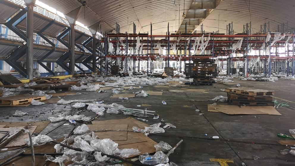 Över 500 företag plundrades i Maracaibo.