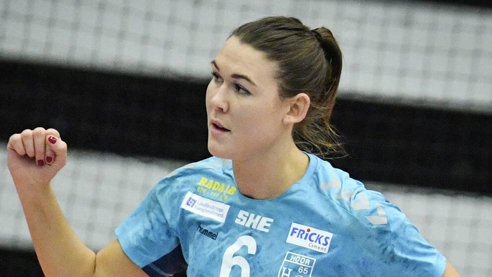 Sju mål blev Höörspelaren Mikaela Mässings facit för dagen.