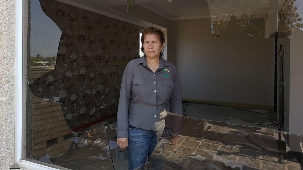 Hotellchefen Odalis Vergara har arbetat på hotellet i 22 år.