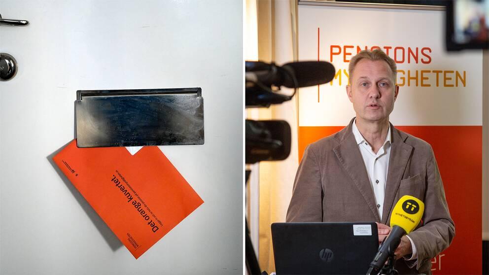 Sten Eriksson, kommunikationschef på Pensionsmyndigheten.