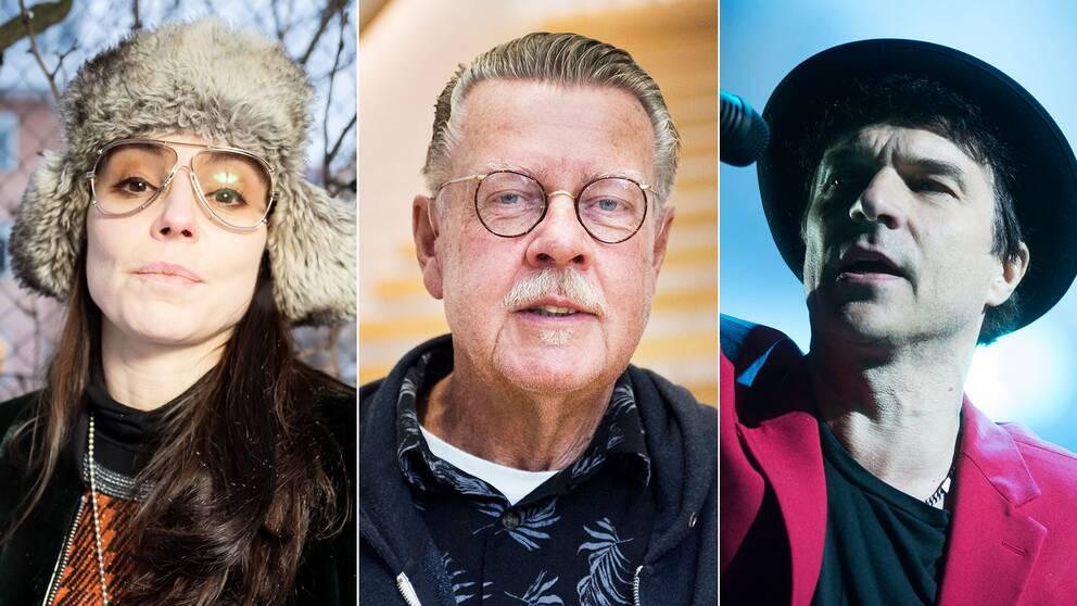 Lo Kauppi, Mikael Wiehe och Joakim Thåström är några av artisterna som skrivit under uppropet.