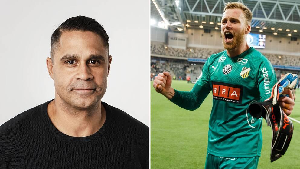 SVT Sports Daniel Nannskog lanserar Häckens målvakt Peter Abrahamsson, 30, som landslandsaktuell.