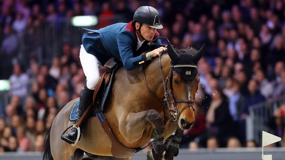 Peder Fredricson och All In ställer upp i Göteborg Horse Show.