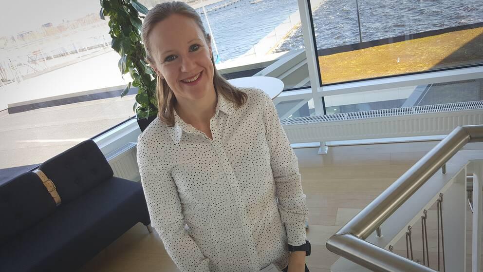 Annett Ludvigsson på Länsstyrelsen