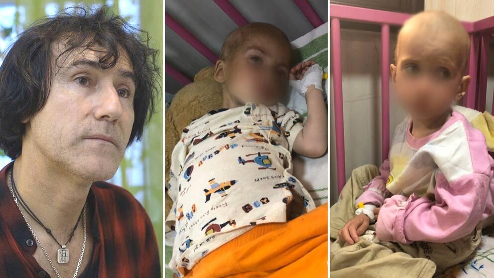Patricio Galvez barnbarn finns bland de runt 80 underåriga som har kopplingar till Sverige och som fortfarande befinner sig i Syrien.