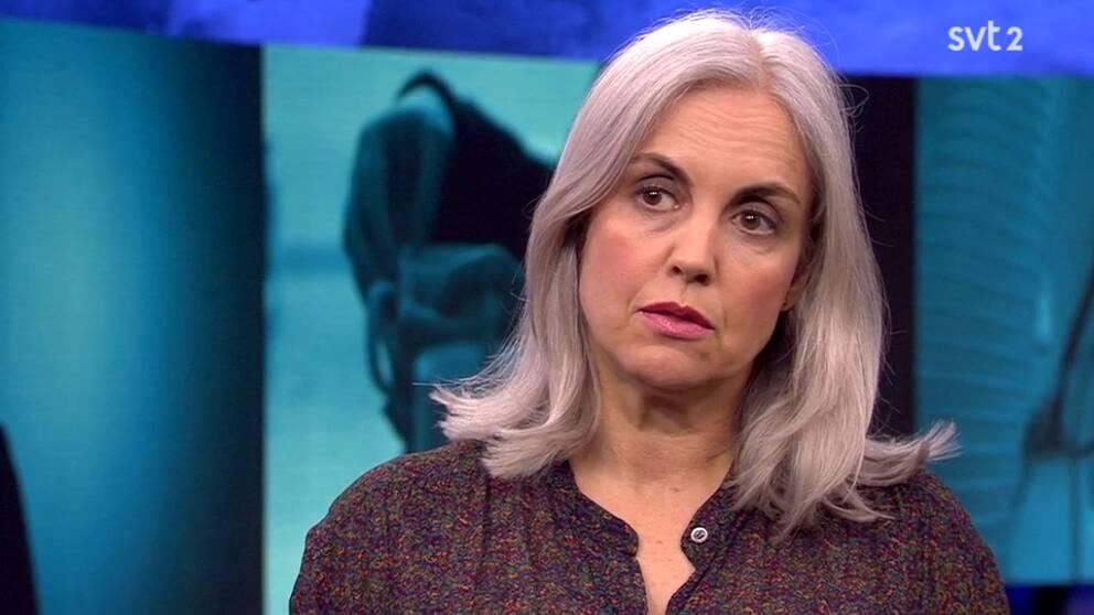 Louise Frisén, överläkare på Teamet för könsidentitetsutredningar av unga i Stockholm,