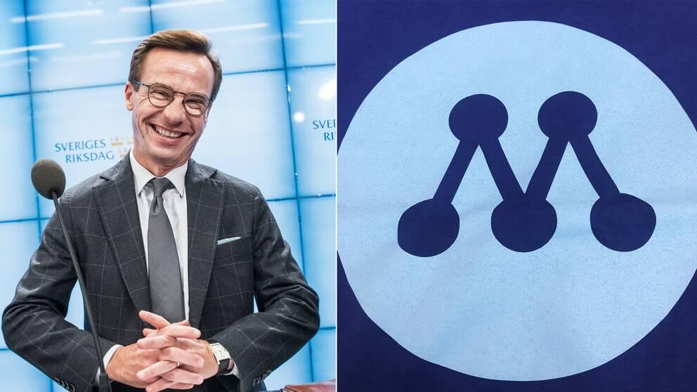 Moderaternas nya logga presenterades på Sverigemötet i Karlstad.