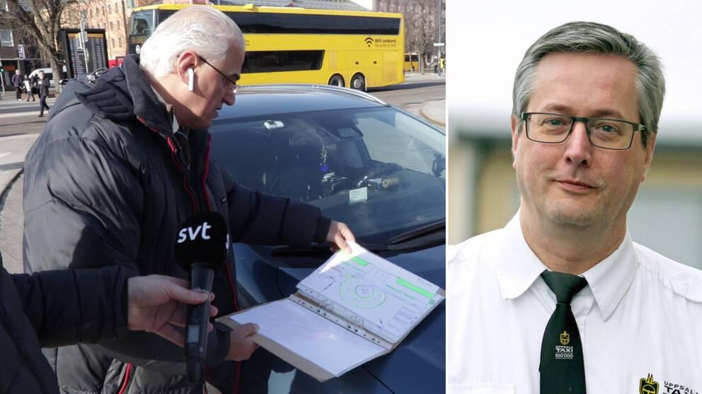 Håkan Eriksson vd Uppsala taxi