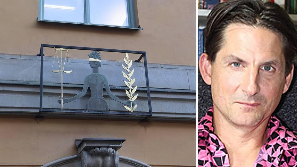 Magnus Hörnqvist, kriminolog på Stockholms universitet, och Stockholms tingsrätt.