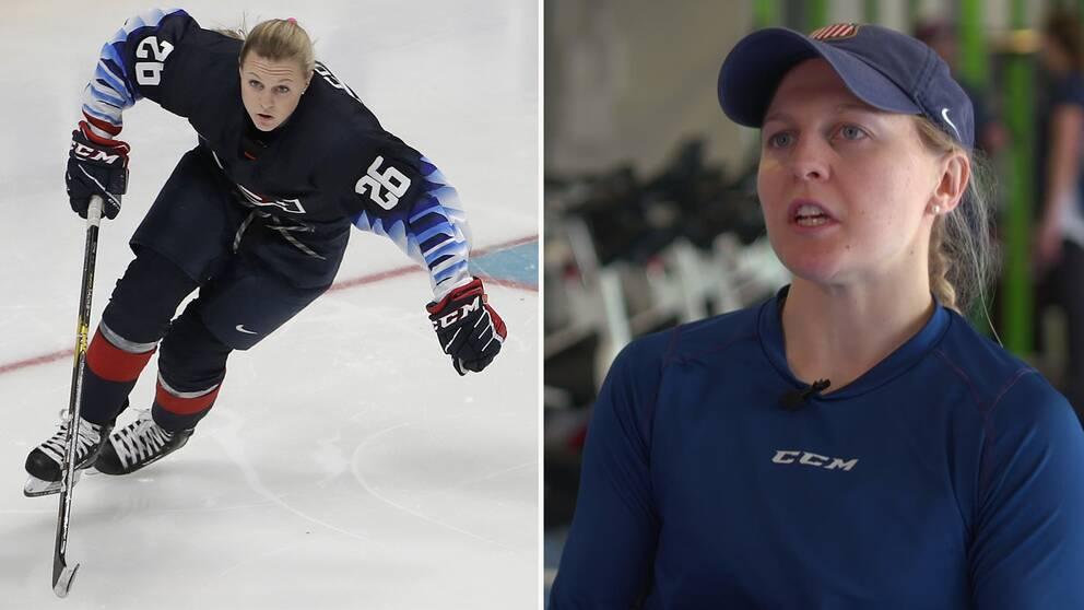 Kendall Coyne Schofield bröt ny mark när hon utmanade männen i NHL:s skicklighets-tävling under All Star-helgen.