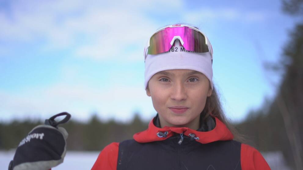 """Ida Andersson, 17, har kämpat mot ätstörningar i flera år. Hon säger att förebilder som ser olika ut är viktigt för inspiration för unga idrottare. """"Om man vill bli bäst så kollar man ju på de bästa"""", säger Ida till SVT Sport."""