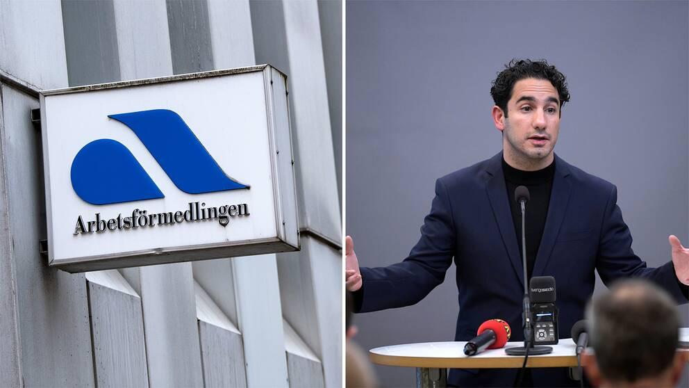 Arbetsförmedlingen är en av de myndigheter som civilministern Ardal Shekarabi (S) vill ska flytta verksamhet från Stockholm.