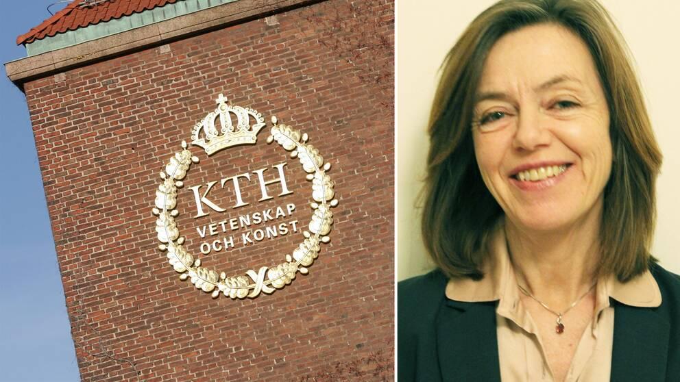 Kungliga Tekniska högskolans förre vicerektor, Christina Moberg.