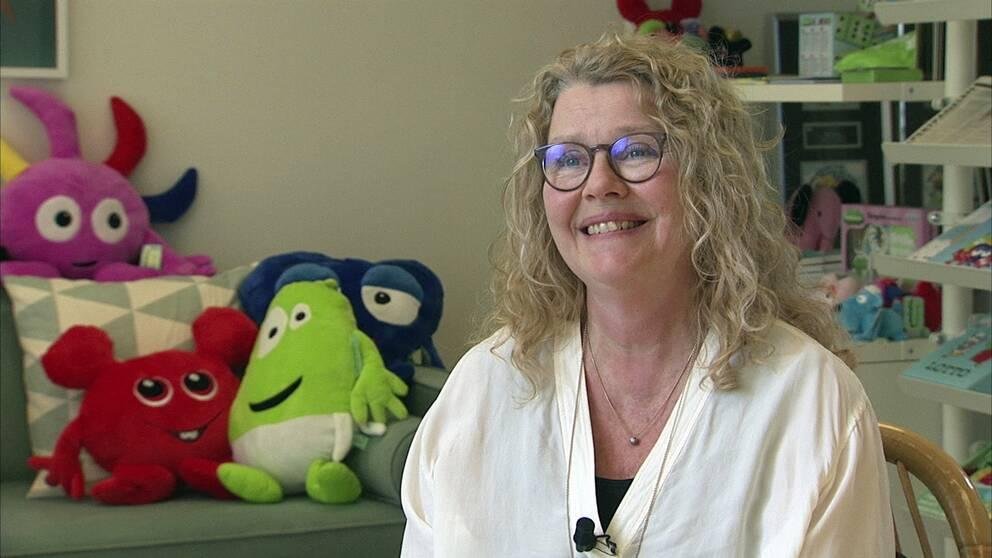 Anneli Tisell, grundare av Hatten förlag och konceptet Babblarna.