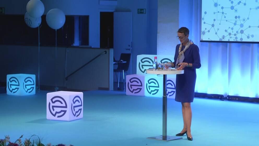 Gertrud Ingestad, Director-General for the European Commission's , IT-Department DIGIT