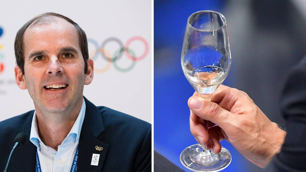 Betala i champagne eller få en flaska själv? Ett vad om OS-budgeten kan komma kosta Richard Brisius, kampanjgeneral den svenska ansökan för 2026, dyrt.