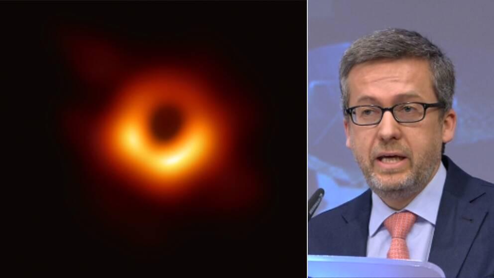 Här presenteras den första bilden på ett svart hål – någonsin.