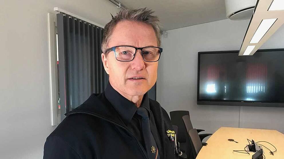 Tommy Lindvall, säkerhetschef vid Bodens kommun.