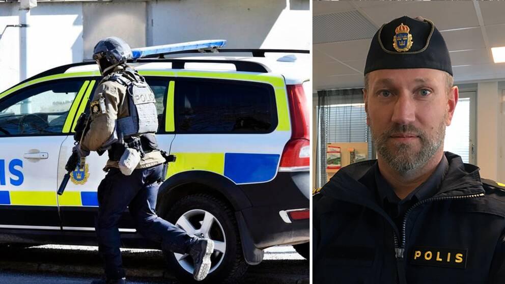 Hans Björner, lokal polisområdeschef.
