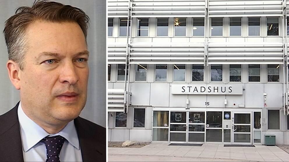 Daniel Källenfors, Lidingö kommunhus