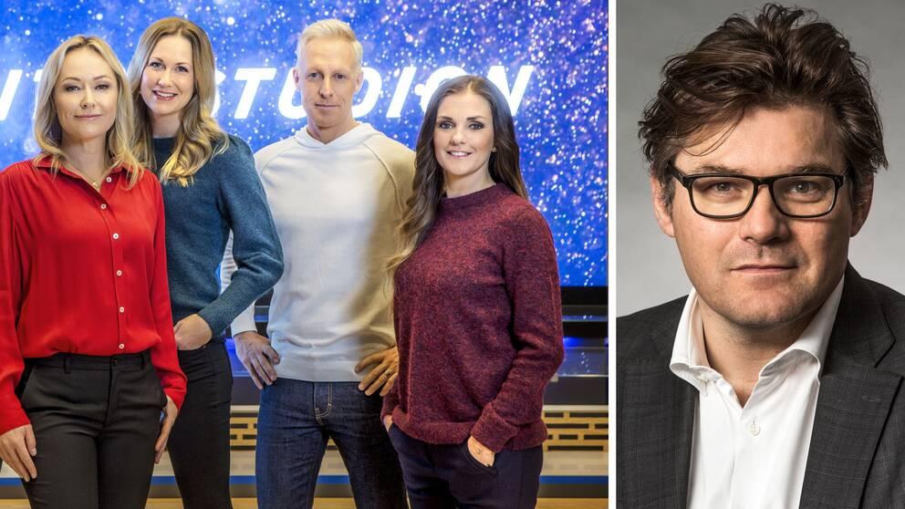 SVT:s programchef hoppas fortsätta sända Vinterstudion även i framtiden.