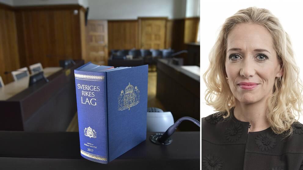 Mia Edwall Insulander blir snart ny ordförande för Advokatsamfundet.