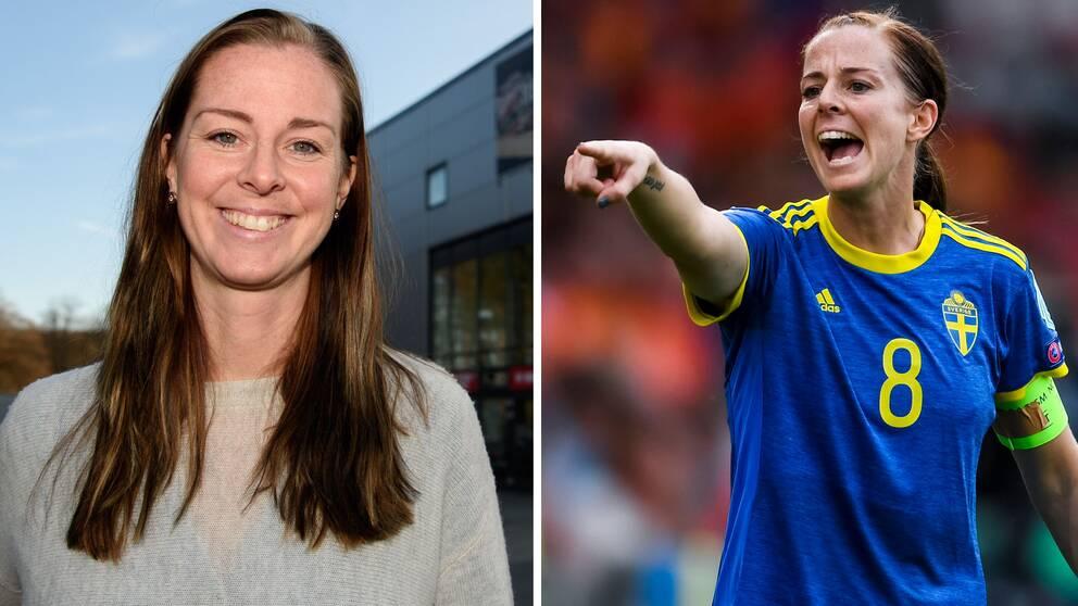 Förra storspelaren Lotta Schelin blir gästexpert i SVT under damallsvenska sändningarna.