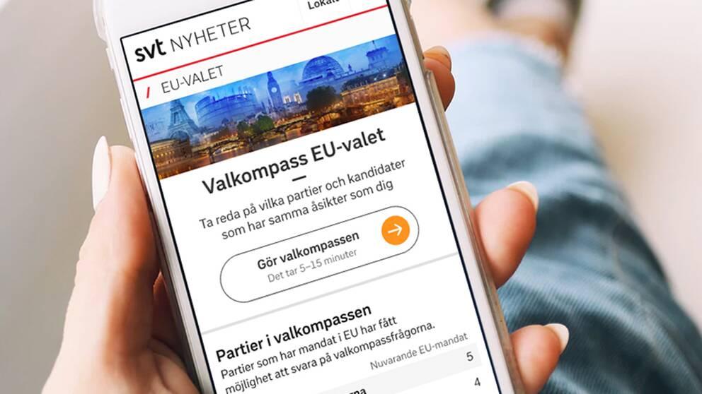 95dc6654270 Premiär för SVT:s valkompass inför EU-valet | SVT Nyheter