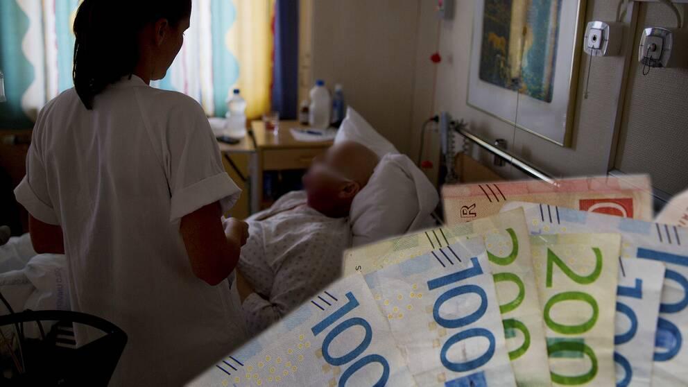 Sjuksköterska, pengar,