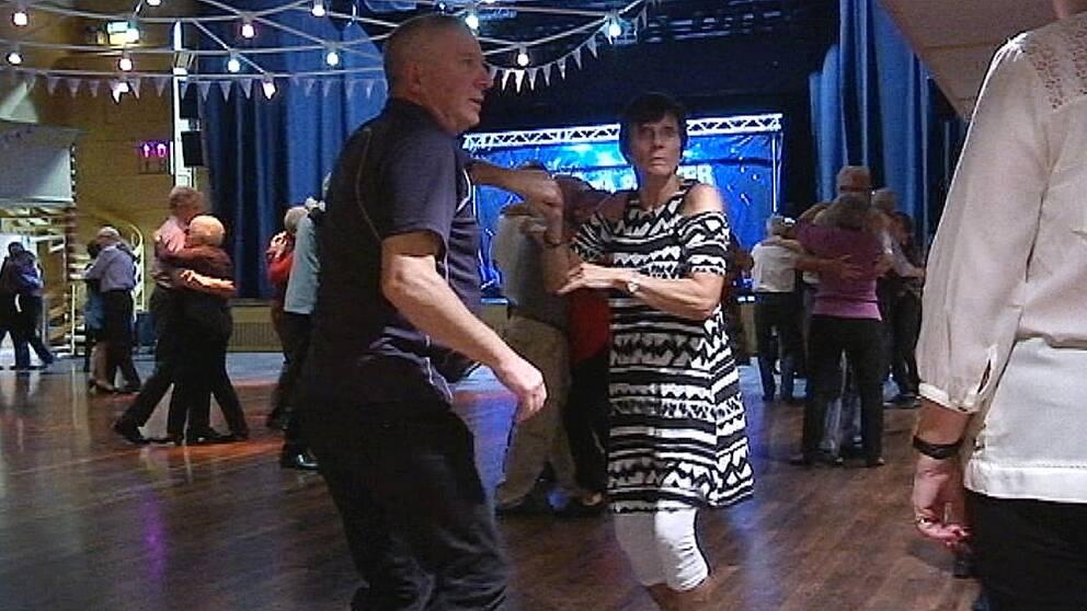 Åldringar som dansar