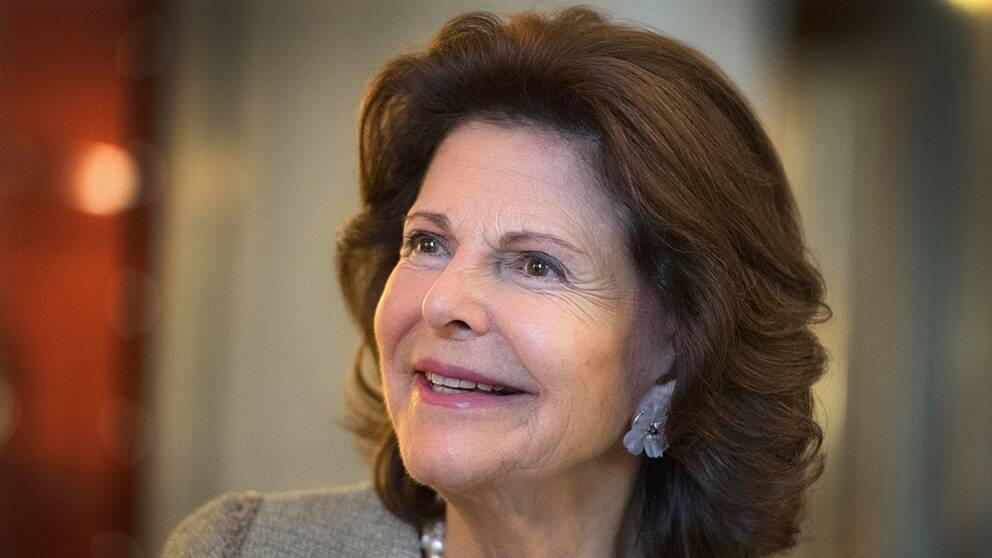 Drottning Silvia berättade för Ralfs barn och barnbarn om hans dramatiska insatser för att rädda familjen och 700 flyktingar ut ur Tyskland 1947.
