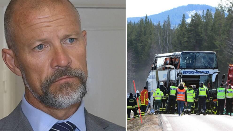 Ulrik Smedberg, busschaufförens advokat är kritisk till att åtal väcktes