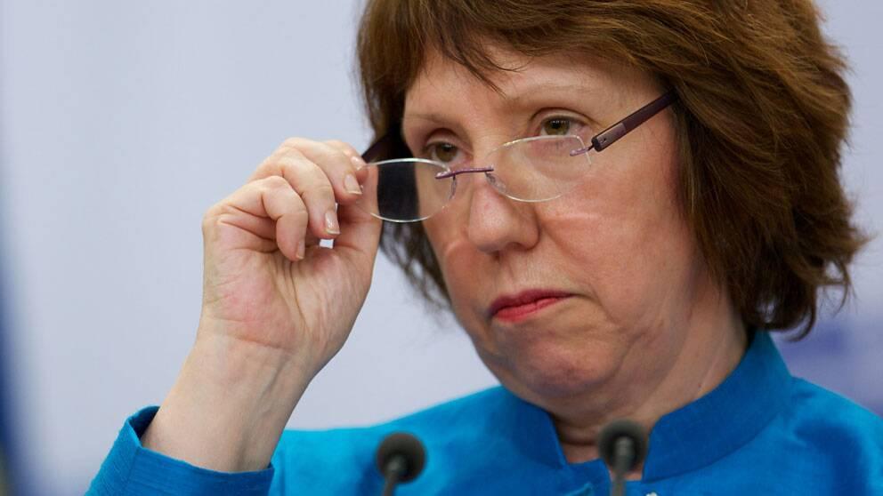 EU:s utrikesminister Catherine Ashton. Foto: Scanpix