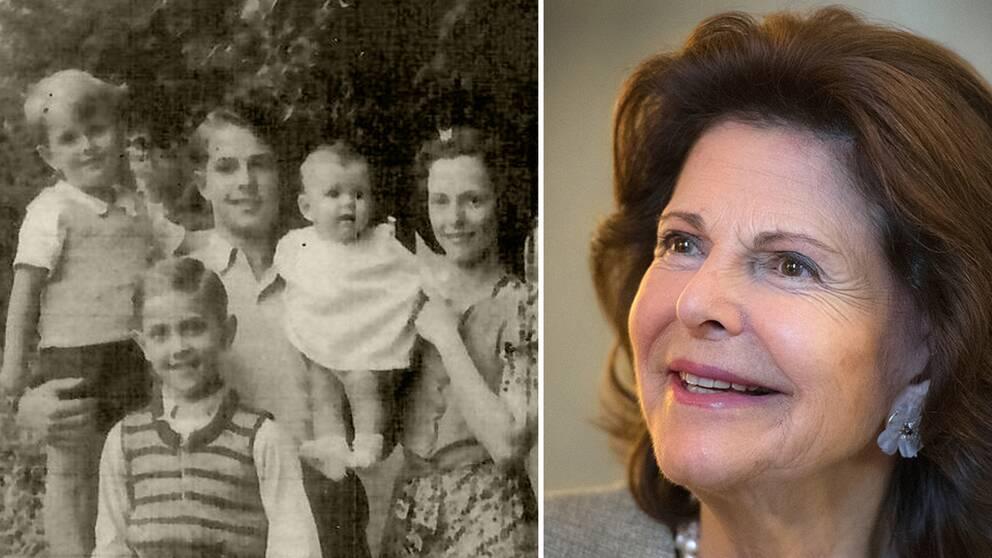 Tack vare brodern Ralf Sommerlaths insatser kunde Silvia och hennes familj evakueras från Tyskland efter kriget.