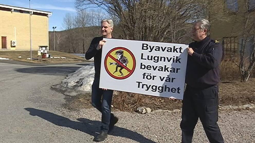 Nu ska även Lugnvik få systemet som minskar brottsligheten med 40 procent – byavakt.