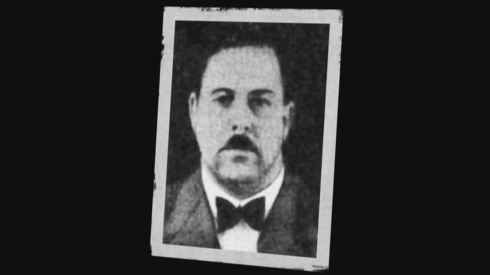 """Anders Gustaf Eriksson, som under sina """"glansdagar"""" som sol-och-vårare gick under efternamnet Raskenstam."""