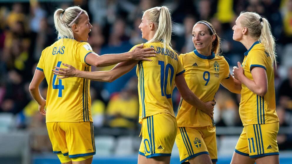 Sverige får en utsåld match mot USA i VM.