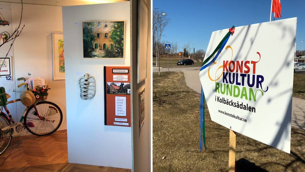 Start, stopp och packning: Så lägger du upp en bra rutt under konst- och kulturrundan i Kolbäcksådalen.